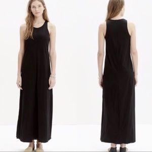Madewell Tank Maxi Dress in True Black